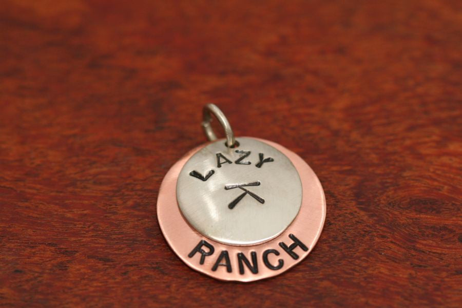 Stamped Ranch Brand - One Disc