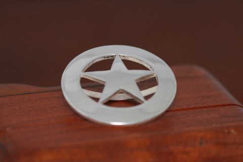 Texas Star Scarf Slide-Cinco Peso Coin