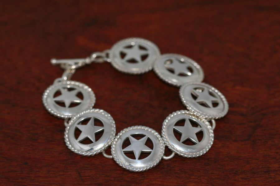 Small Star with Rope Continuous Bracelet