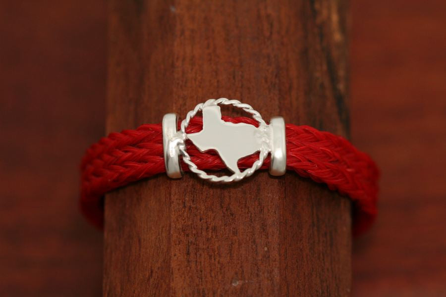 Small Map on a Casual Upscale Bracelet