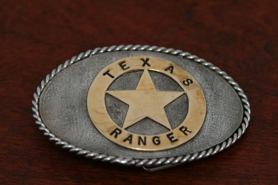 """Texas Ranger Buckle"""