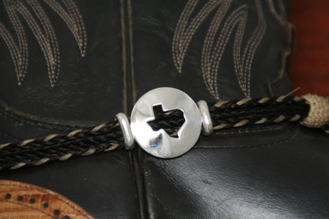 Texas Star Boot Anklet-Large with Rope