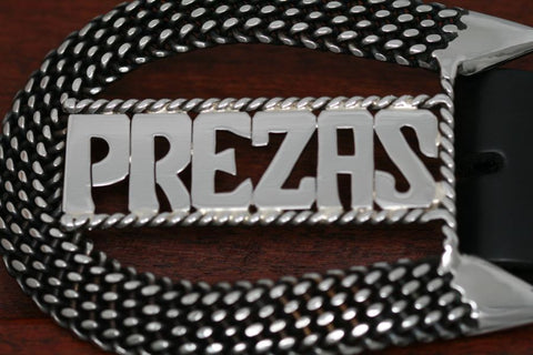 Woven Stainless Steel Horseshoe Belt Buckle-Personalized