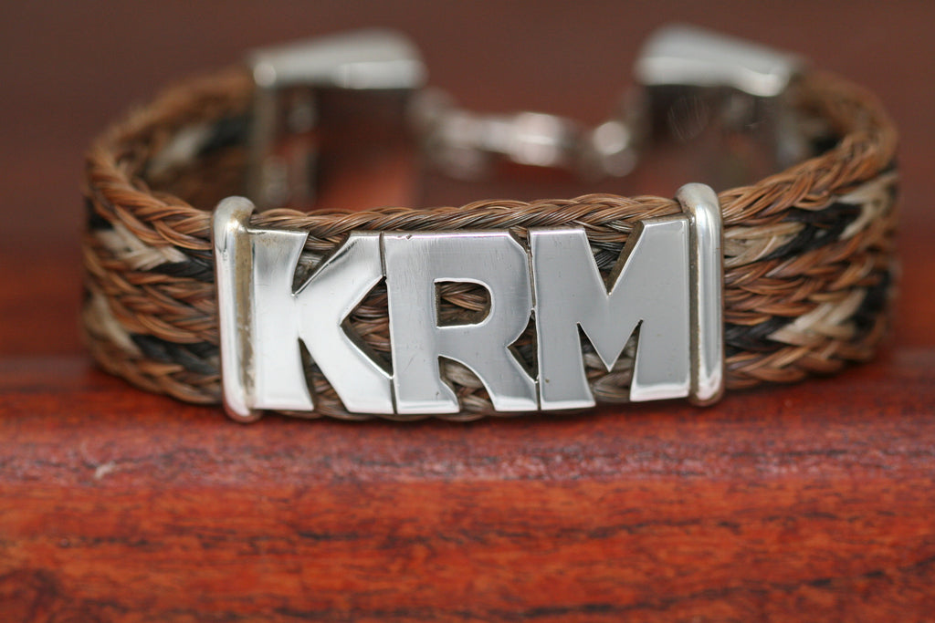 Extra Large Name on a Thick Upsale Casual Bracelet