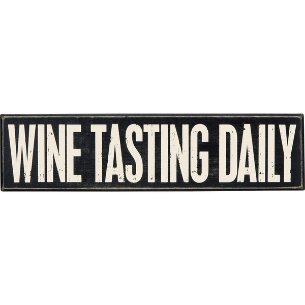 Box Sign - Wine Tasting Daily