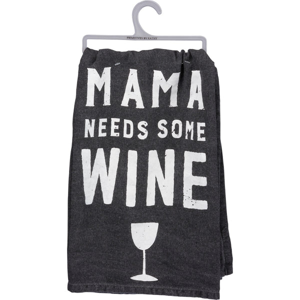 Dish Towel - Mama Needs Some Wine