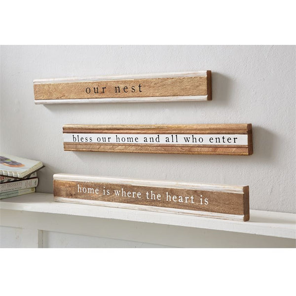 Sign - Moulding Sentiment Stick