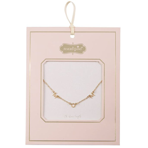 Necklace - Mom Gold