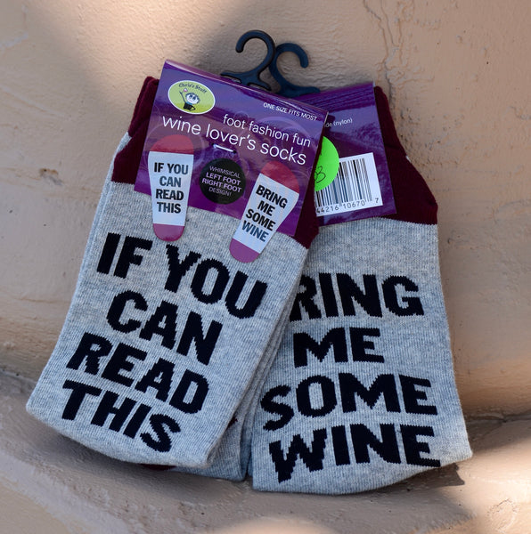 Socks - If You Can Read This Bring Me Some Wine