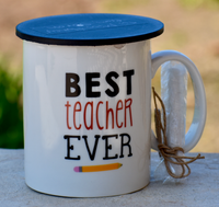 Chalkboard Mug - Best Teacher Ever