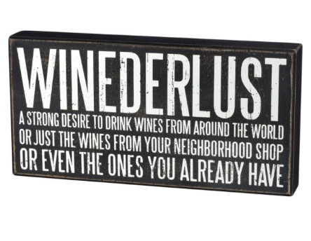 Box Sign - Winederlust