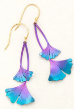 Load image into Gallery viewer, Holly Yashi Ginkgo Drop Earring