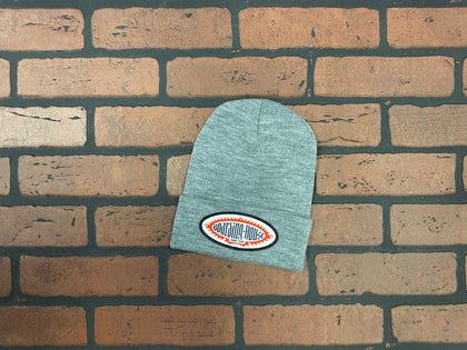 BH Heather Gray Tight Knit Beanie