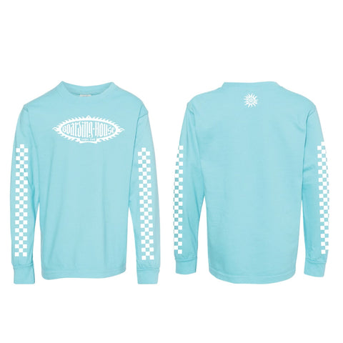 Kids BH Flo Blue Long sleeve
