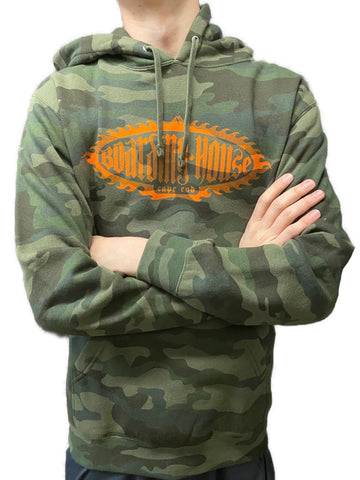 Boarding House Green/Orange Camo