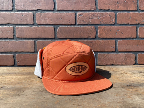 BH Rust/Grey Quilted Cap