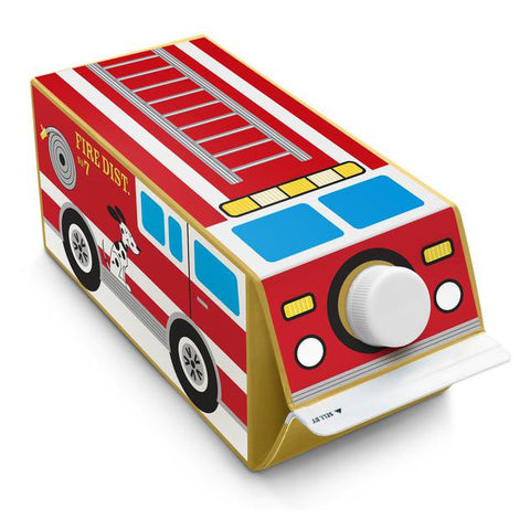 Box Play Fire Truck Sticker