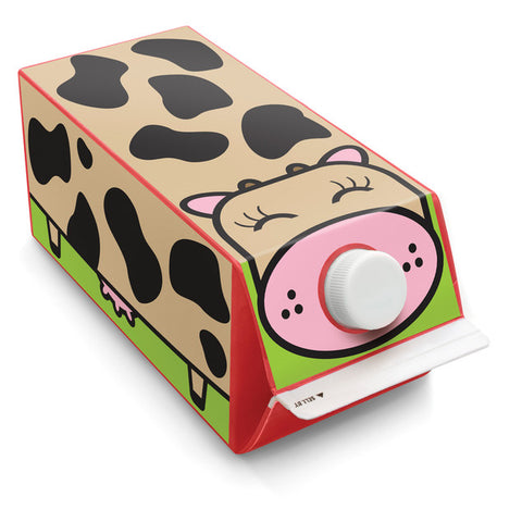 Box Play Cow Sticker