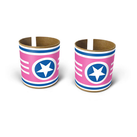 Box Play Superstar Bracelet Stickers - Pink