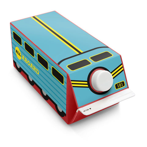 Box Play Train Sticker
