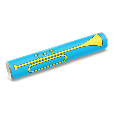 Box Play Horn Sticker