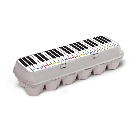 Box Play Piano Sticker