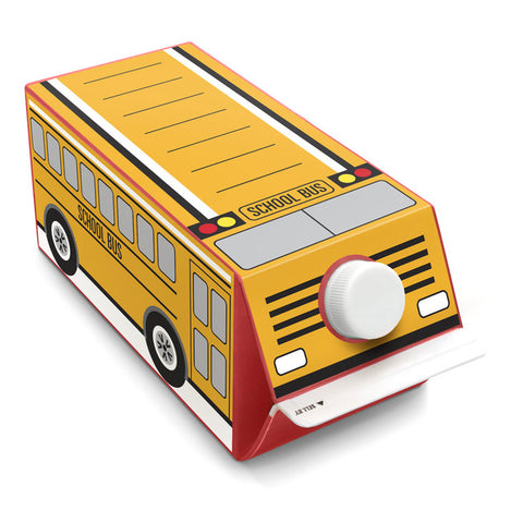 Box Play School Bus Sticker