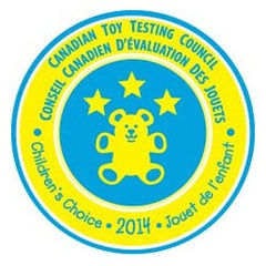 Candian Toy Testing Council Childrens' Choice Award - 2014