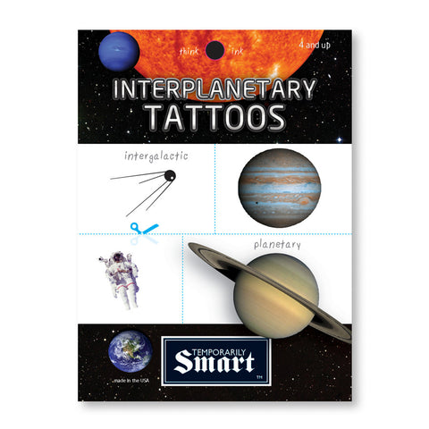 Temporarily Smart - Interplanetary Tattoos