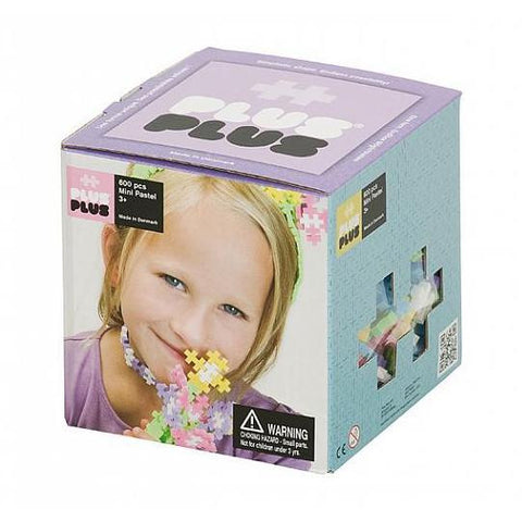 Plus-Plus Mini Pastel - 600 pcs