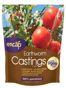 Encap Earth Worm Castings