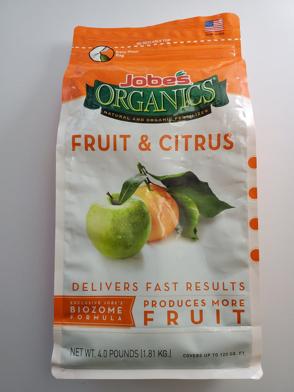 Jobes Organics Fruit and Citrus Fertilizer (3.5.5)