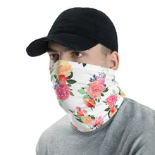 Load image into Gallery viewer, Neck Gaiter - Monotype Flowers 05 - Buy Neck Gaiter | COVID-19 | CORONAVIRUS Face Protection Alternative
