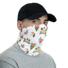 Load image into Gallery viewer, Neck Gaiter - Monotype Flowers 06 - Buy Neck Gaiter | COVID-19 | CORONAVIRUS Face Protection Alternative