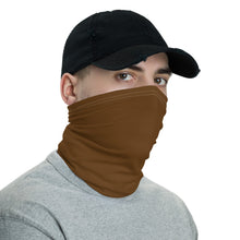 Load image into Gallery viewer, Neck Gaiter - Brown - Buy Neck Gaiter | COVID-19 | CORONAVIRUS Face Protection Alternative