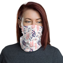 Load image into Gallery viewer, Neck Gaiter - Pink Navy 02 - Buy Neck Gaiter | COVID-19 | CORONAVIRUS Face Protection Alternative