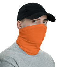 Load image into Gallery viewer, Neck Gaiter - Orange - Buy Neck Gaiter | COVID-19 | CORONAVIRUS Face Protection Alternative
