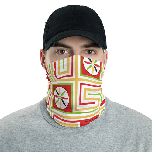 Neck Gaiter - Egypt Pattern 12 - Buy Neck Gaiter | COVID-19 | CORONAVIRUS Face Protection Alternative