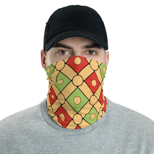 Neck Gaiter - Egypt Pattern 22 - Buy Neck Gaiter | COVID-19 | CORONAVIRUS Face Protection Alternative