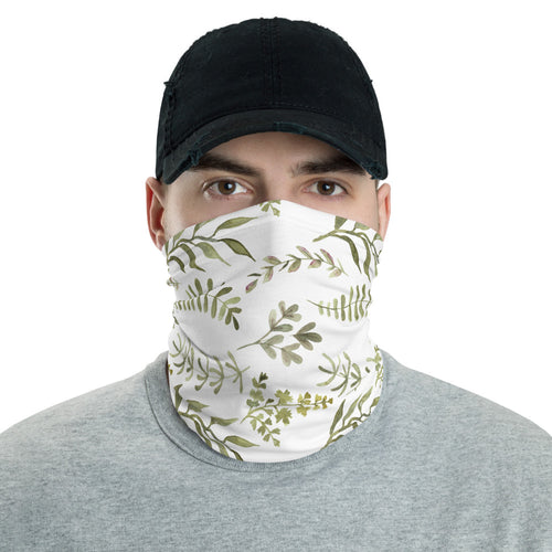 Neck Gaiter - Watercolor Flowers 03 - Buy Neck Gaiter | COVID-19 | CORONAVIRUS Face Protection Alternative