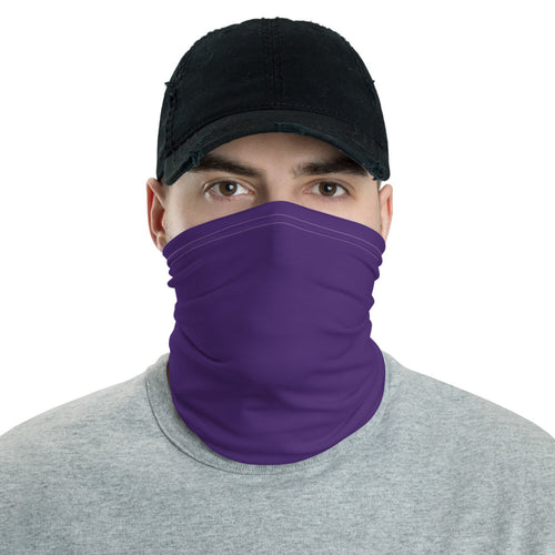 Neck Gaiter - Purple - Buy Neck Gaiter | COVID-19 | CORONAVIRUS Face Protection Alternative