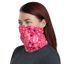 Load image into Gallery viewer, Neck Gaiter - Pink Navy 04 - Buy Neck Gaiter | COVID-19 | CORONAVIRUS Face Protection Alternative