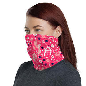 Neck Gaiter - Pink Navy 04 - Buy Neck Gaiter | COVID-19 | CORONAVIRUS Face Protection Alternative