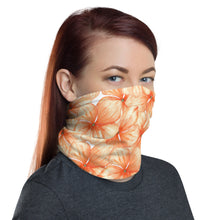 Load image into Gallery viewer, Neck Gaiter - Watercolor Flowers 04 - Buy Neck Gaiter | COVID-19 | CORONAVIRUS Face Protection Alternative