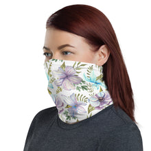 Load image into Gallery viewer, Neck Gaiter - Watercolor Flowers 02 - Buy Neck Gaiter | COVID-19 | CORONAVIRUS Face Protection Alternative