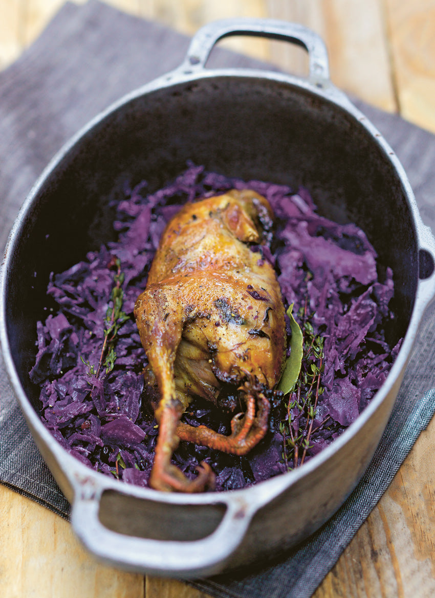 Pheasant and Red Cabbage
