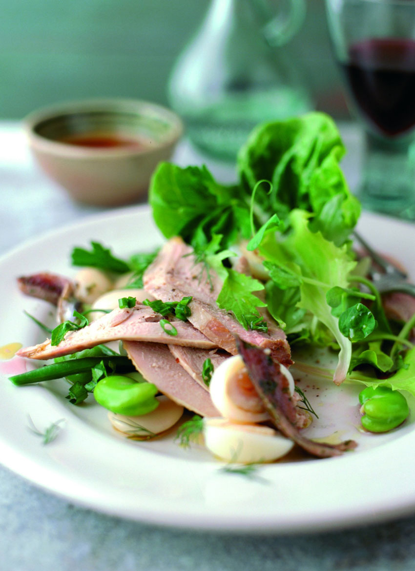 Warm Partridge Salad