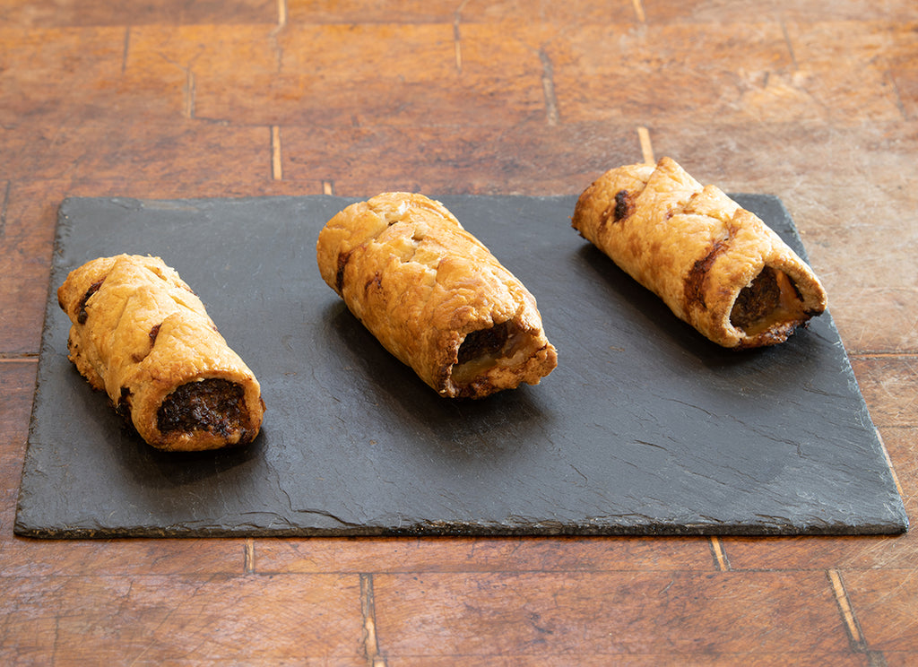 Truly Traceable Homemade Wild Boar Sausage Rolls