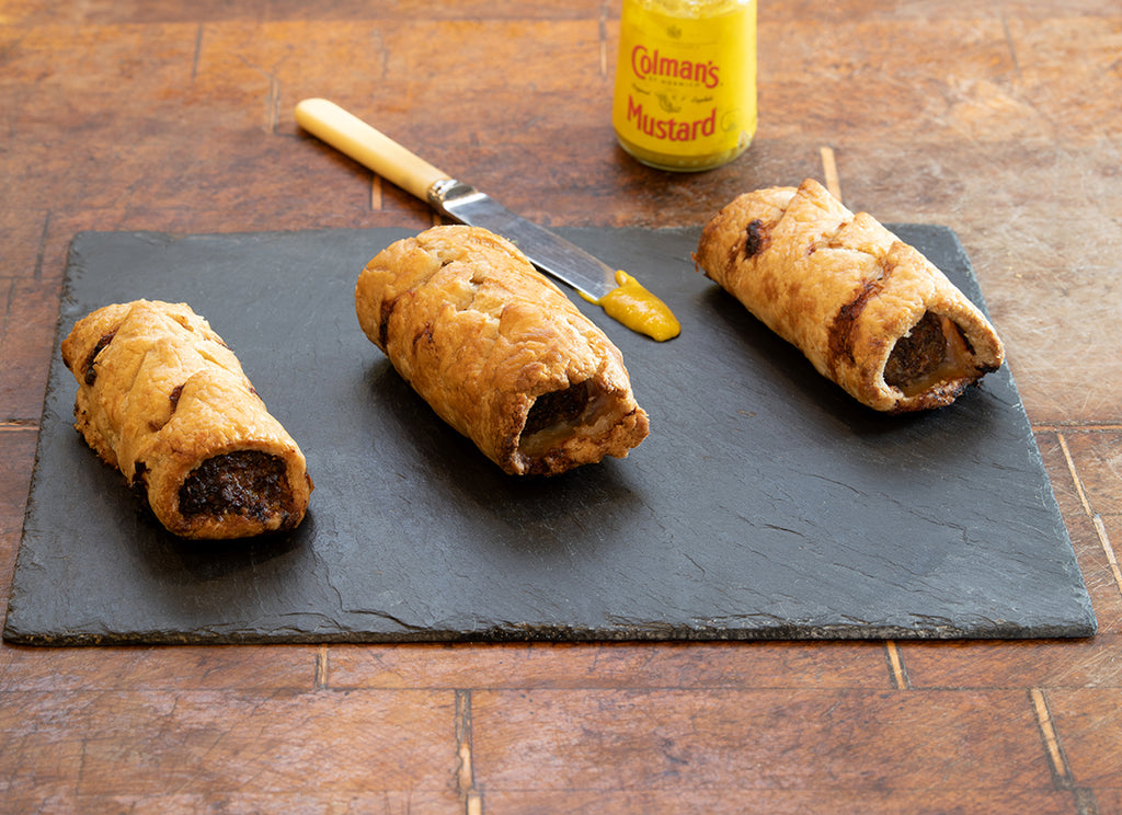 Truly Traceable Homemade Muntjac Merguez Sausage Rolls