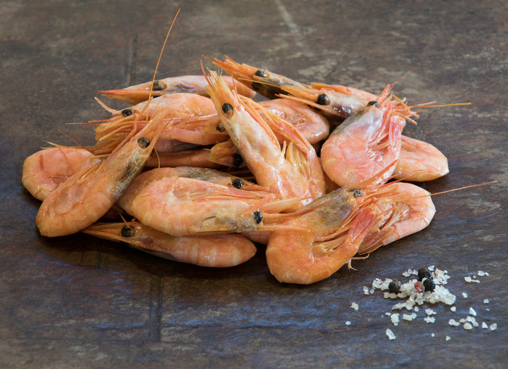 Smoked North Atlantic Prawns